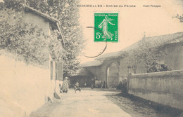 K14 - 38 - ECHIROLLES - Isère - Entrée De Ferme - Echirolles