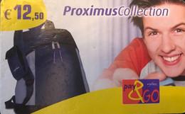 BELGIQUE - Prepaid  - PROXIMUS - Pay&GO - Collection - 12 E. 50 - GSM-Kaarten, Herlaadbaar & Voorafbetaald