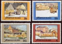 Norfolk Island 1988 Restored Buildings MNH - Norfolk Island