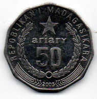 Madagascar 50 Ariary 2003 TTB+ - Madagascar