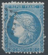 Lot N°60285   Variété/n°37, Oblit GC, Filet OUEST - 1870 Besetzung Von Paris