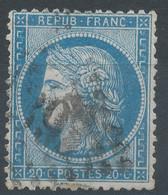 Lot N°60286   N°37, Oblit GC - 1870 Besetzung Von Paris
