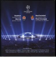 Football Program  UEFA Champions League 2013-14 Shakhtar Donetsk Ukraine - FC Real Sociedad  Spain - Books