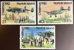 Norfolk Island 1982 Christmas Supply Landings Aircraft MNH - Norfolk Island