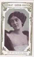 Chromo-publicité -chocolat Guerin Boutron --2e Livre D'or N ° 674 - Lina Cavalieri Cantatrice Opera - Guerin Boutron