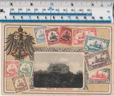 STAMPS - GERMANY / CHINA - TSINGTAU - GOUVERNAURWOHNHAUS - Timbres (représentations)