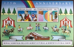 Norfolk Island 1985 Agricultural Show Minisheet MNH - Norfolk Island