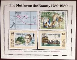 Norfolk Island 1989 Mutiny On The Bounty Minisheet MNH - Norfolk Island