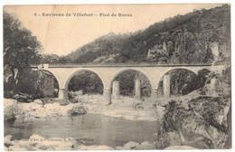 LA LOZERE ENVIRONS DE  VILLEFORT : PIED DE BORNE - CIRCULEE - Andere Gemeenten
