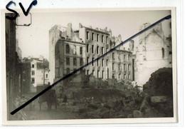 Saint Malo 1944  Ruines Magasin  Photo Originale Sur Papier Kodak Format 10x15 - Saint Malo