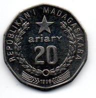 Madagascar 20 Ariary 1999 TTB+ - Madagascar