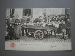BRUXELLES - MARCHANDE DE LEGUMES - METIERS - ED. GRAND BAZAR ANSPACH N° 95 - Artigianato