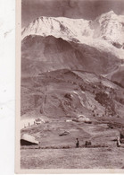 Carte Postale: SAINT GERVAIS LES BAINS: Col De Voza, Le Chemin De Fer Du Glacier De Bionnassay. - Saint-Gervais-les-Bains