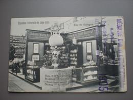 LIEGE - EXPOSITION UNIVERSELLE 1905 - MEDAILLE D'OR, EAU DE COLOGNE FARINA - REPR. E. VANDEVYVERE MALINES - Liège