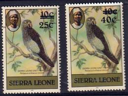SIERRA LEONE - Faune, Oiseaux - Y&T N° 595a-599a - MNH - 1981 - Sierra Leone (1961-...)