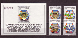 Soccer World Cup 1982 - HONDURAS - S/S+Set MNH - 1982 – Espagne