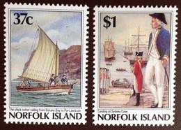 Norfolk Island 1987 Settlement Bicentenary 5th Issue MNH - Norfolk Island