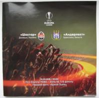 Football -  UEFA Europa League 2015-16 Shakhtar Donetsk Ukraine - RSC Anderlecht Belgium - Books