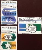 Norfolk Island 1988 Sydpex MNH - Norfolk Island