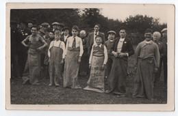 CARTE PHOTO : COURSE EN SAC - GARCONS AU DEPART - FETE AU VILLAGE - JEU SPORTIF AUX JEUX OLYMPIQUES DE 1904 -z 2 SCANS Z - Regional Games