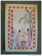 Programme Kermesse Militaire Octobre 1937  Madagascar Lycée Jules Ferry - Programs