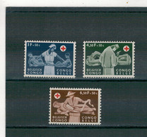 1957 - Croix-Rouge. - 1947-60: Mint/hinged