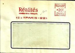 Lettre  EMA Havas 1958 Réalités Premiere Revue Francaise Presse Journal   C38/01 - Zonder Classificatie