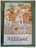 Programme Kermesse Militaire Octobre 1937  Madagascar Théâtre Du Petit Monde - Programs
