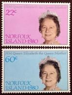 Norfolk Island 1980 Queen Mother MNH - Norfolk Island