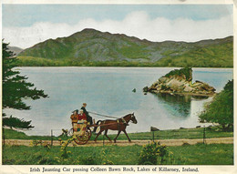 IRISH JAUNTING CAR PASSING COLLEEN BAWN ROCK - Unclassified