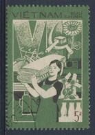 Vietnam 1987 Mi 1883 SG 1167 - Used - Woman Carrying Bales Of Cloth / Frau Mit Stoffballen - Steigerung Industrieprodukt - Zonder Classificatie