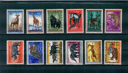 1959 - Faune Du Congo.  Animaux Protégés. - 1947-60: Mint/hinged