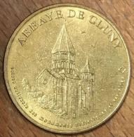 71 ABBAYE DE CLUNY MDP 2003 MÉDAILLE SOUVENIR MONNAIE DE PARIS JETON TOURISTIQUE TOKENS MEDALS COINS - 2003