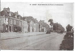 JUVISY - Route Nationale De Paris A Fontainebleau - Juvisy-sur-Orge