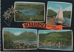 Schliersee - 4 Teilbilder - 1966 - Schliersee