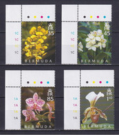 BERMUDA 2004, Mi# 881-884, Flowers, MNH - Bermuda
