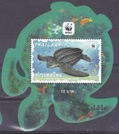 Thailand 2019, Postfris MNH, WWF, Turtle - Thailand