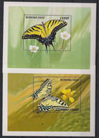 Burkina Faso - 1998 - Bloc Feuillet BF N°Yv. 68 à 69 - Papillons / Butterflies - Neuf Luxe ** / MNH / Postfrisch - Mariposas