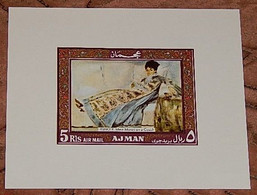 1969Ajman434/B118bFrance Artists4,50 € - Autres