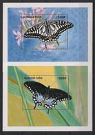 Burkina Faso - 1998 - Bloc Feuillet BF N°Yv. 70 à 71 - Papillons / Butterflies - Neuf Luxe ** / MNH / Postfrisch - Mariposas