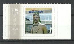 Estland Estonia Estonie 2006 Meine Marke My Stamp MNH Shakespeare Cafe (in Tartu) In The Background - Estonia