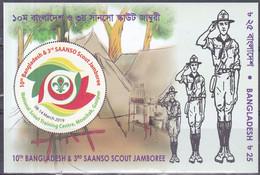 Bangladesh 2019, Postfris MNH, Scouting, Jamboree - Bangladesh