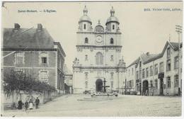 SAINT-HUBERT : L'église - Petite Animation - 1910 - Saint-Hubert