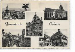 CPSM - FRANCE  (68 ) -  COLMAR  - Multivues - : Souvenir De COLMAR - 1953. - Gruss Aus.../ Grüsse Aus...