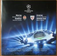 Football Program  UEFA Champions League 2014-15 Shakhtar Donetsk Ukraine - Athletic Club Bilbao  Spain - Books