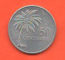 Guinea Bissau FAO 50 Centavos Guinè Buissau 1977 Aluminum Coin - Guinea-Bissau