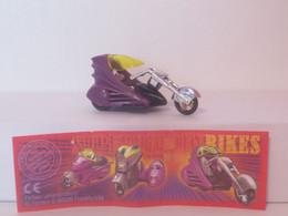 "KINDER SURPRISE 1999 Deutch :         "" Moto "" N° 657271 + BPZ - Mountables"