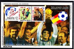Soccer World Cup 1982 - BOLIVIA - S/S Imp. MNH - 1982 – Espagne