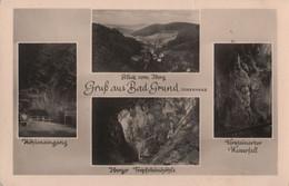 Bad Grund - U.a. Höhleneingang - Ca. 1955 - Bad Grund