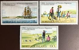 Norfolk Island 1981 Pitcairn Migration Set MNH - Norfolk Island